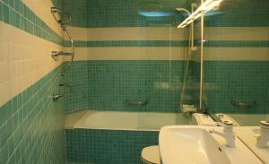 Ein Badezimmer in der Unterkunft Villa Rock