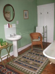 A bathroom at Beachborough Country House