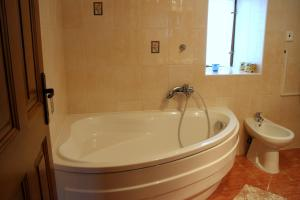 Koupelna v ubytování Penzion Kremenisko