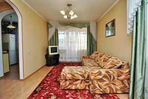 Гостиная зона в Апартаменты Командировка 74