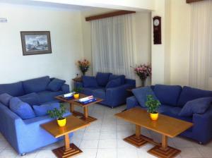 Χώρος καθιστικού στο Andreolas Beach Hotel