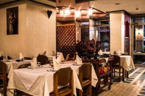 A restaurant or other place to eat at Hotel Amalay