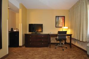A television and/or entertainment center at Kahler Inn and Suites