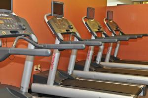 The fitness center and/or fitness facilities at Kahler Inn and Suites