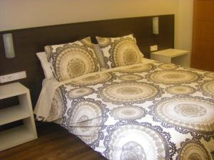 A bed or beds in a room at Bari