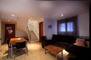 Zona d'estar a Apartaments Turístics Prat de Les Mines