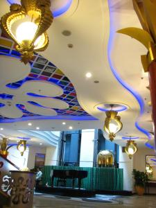 The lobby or reception area at Shenzhen Cruise Inn