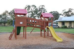 Children's play area at Murray River Resort