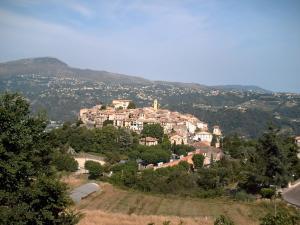 A bird's-eye view of Maison d'hôtes Escale d'Azur
