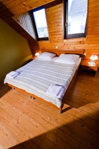 Postelja oz. postelje v sobi nastanitve Guesthouse Les