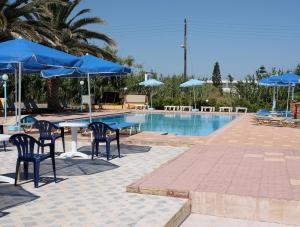 The swimming pool at or near Anthi Apartments