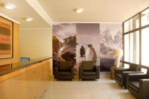O saguão ou recepção de Apart Hotel Providencia