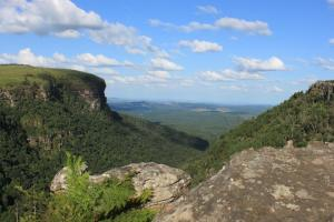 Natural landscape near the chalet