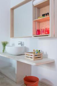 Een badkamer bij Hotel 28
