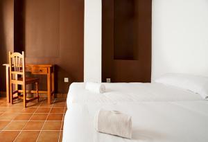 Cama o camas de una habitación en Residencia Universitaria San José