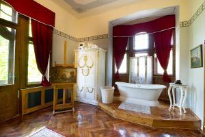 Salle de bains dans l'établissement Letohrádek sv. Vojtěch