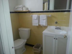 A bathroom at XIT Ranch Motel