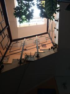 Балкон или терраса в Hostal Los Pinos Inn