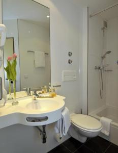 A bathroom at Stern Hotel Soller