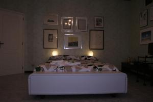 Letto o letti in una camera di B&B Le Strade Del Po