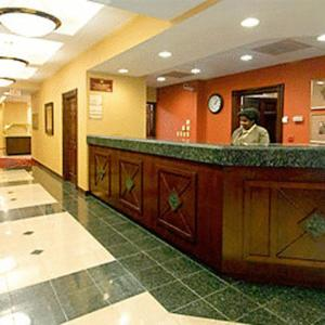 The lobby or reception area at Residence Inn Washington, DC / Dupont Circle