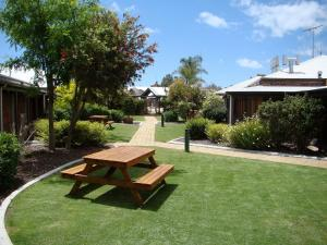 A garden outside Dunsborough Central Motel
