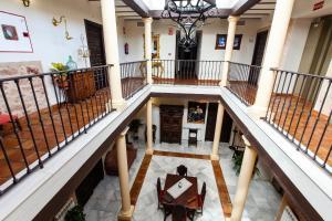 A balcony or terrace at Hotel Palacio del Intendente