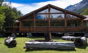 Laguna Condor - Refugio de Montaña durante el invierno