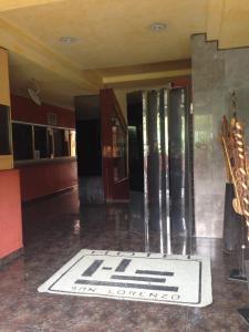 El vestíbulo o zona de recepción de Hotel San Lorenzo