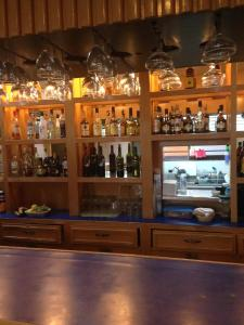 El salón o zona de bar de Hotel San Lorenzo