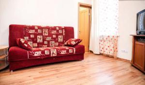 A seating area at Bolshaya Morskaya Apartment