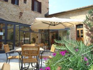 A porch or other outdoor area at Il Vecchio Mulino