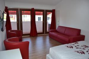 Area soggiorno di Suite in Venice Ai Carmini