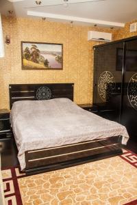 Кровать или кровати в номере 555 Отель