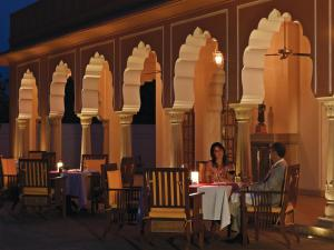 A restaurant or other place to eat at The Oberoi Rajvilas Jaipur