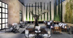Un restaurante o sitio para comer en H10 Art Gallery 4* Sup