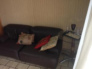 A seating area at Apartamento Pantanal