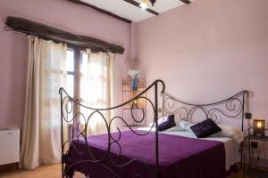 Cama o camas de una habitación en El Geco Verde