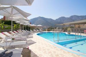 Πισίνα στο ή κοντά στο Amalia Apartments