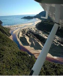 A bird's-eye view of South Sea Hotel - Stewart Island