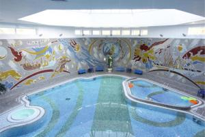 The swimming pool at or near Belarus Hotel