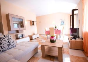 Гостиная зона в Apartments Radonicic