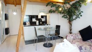 Kuhinja oz. manjša kuhinja v nastanitvi A&N Zadar