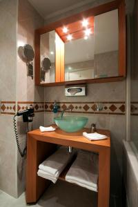 A bathroom at Golden Prague Residence