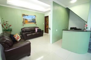 The lobby or reception area at Hotel Lagoa