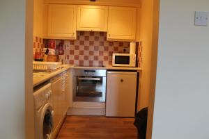 A kitchen or kitchenette at Serviced Apartments Wexford