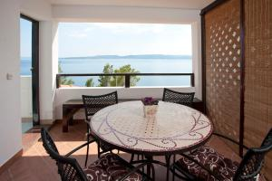 Balkon ili terasa u objektu Apartments Fani