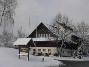 Landgasthof Leuen im Winter