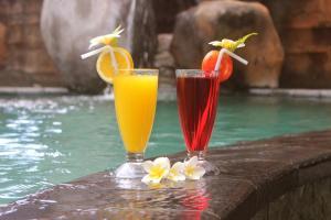 Drinks at Chonos Hotel Lovina