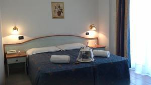 Letto o letti in una camera di Park Hotel Oasi